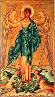 Икона Ангела-хранителя, XIX в.