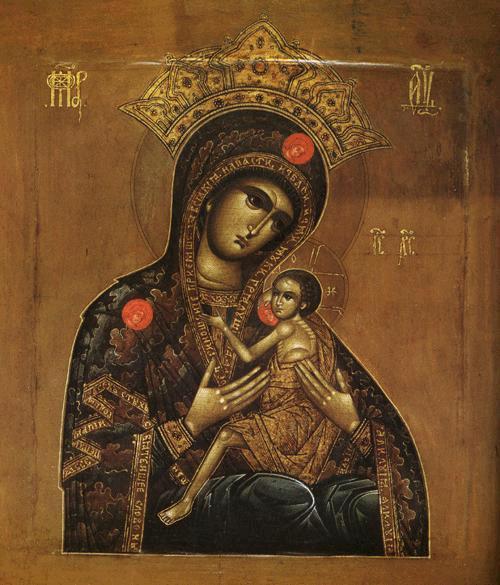чудотворной святогорской иконы божией материо, всепетая мати, рождшая всех святых святейшее слово