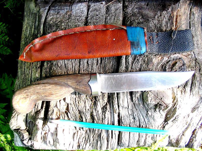 Сталь для охотничьего ножа своими руками 12