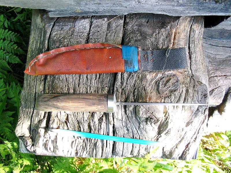 самодельные рыболовные ножи