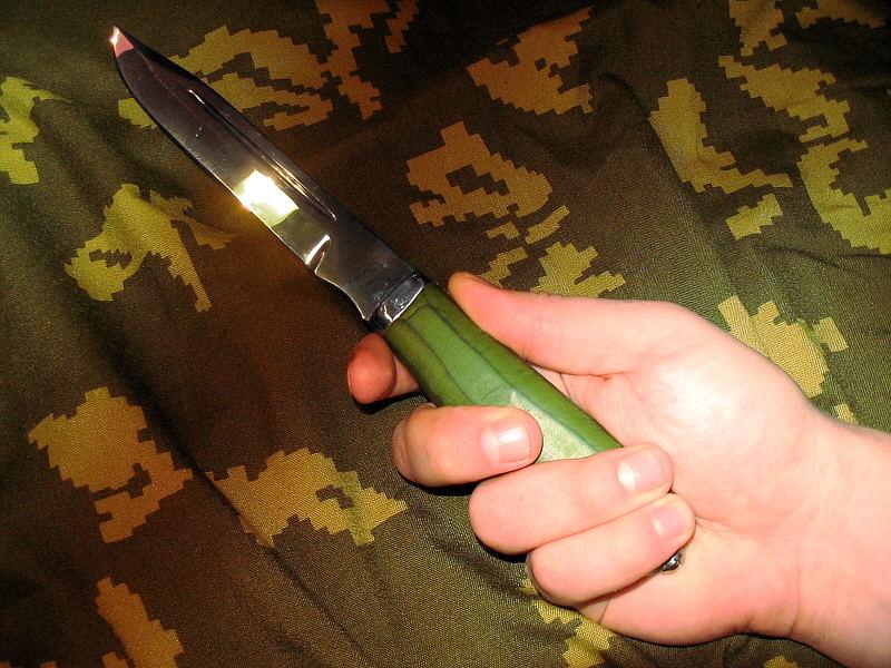 Как сделать нож штык 173