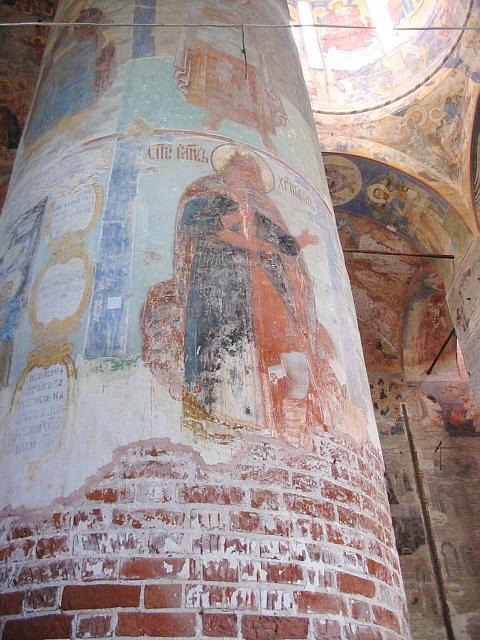 Image result for Желтоводский Макариев монастырь фреска христофора